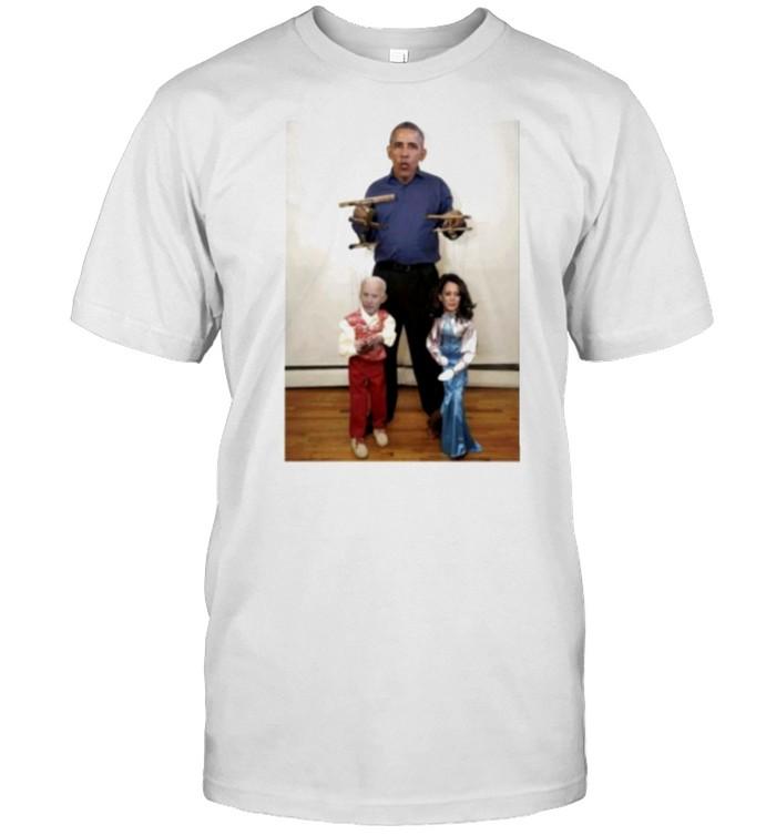 Obama Joe Biden Kamala Harris Puppet Master  Classic Men's T-shirt