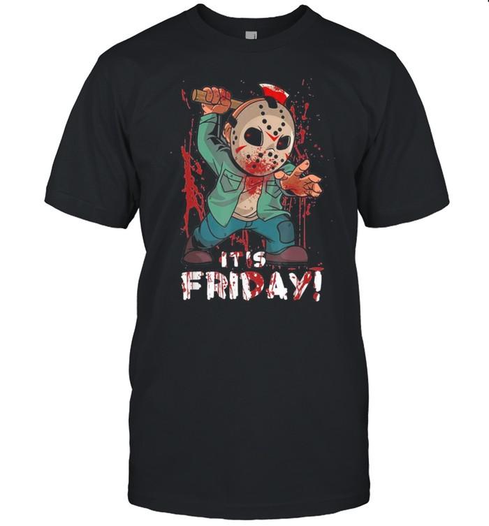 Friday 13Th Halloween Horror Horror Movie Shirt Masswerks Store
