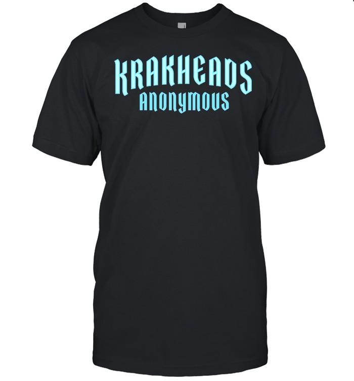 Krakheads Anonymous Seattle Hockey  Classic Men's T-shirt