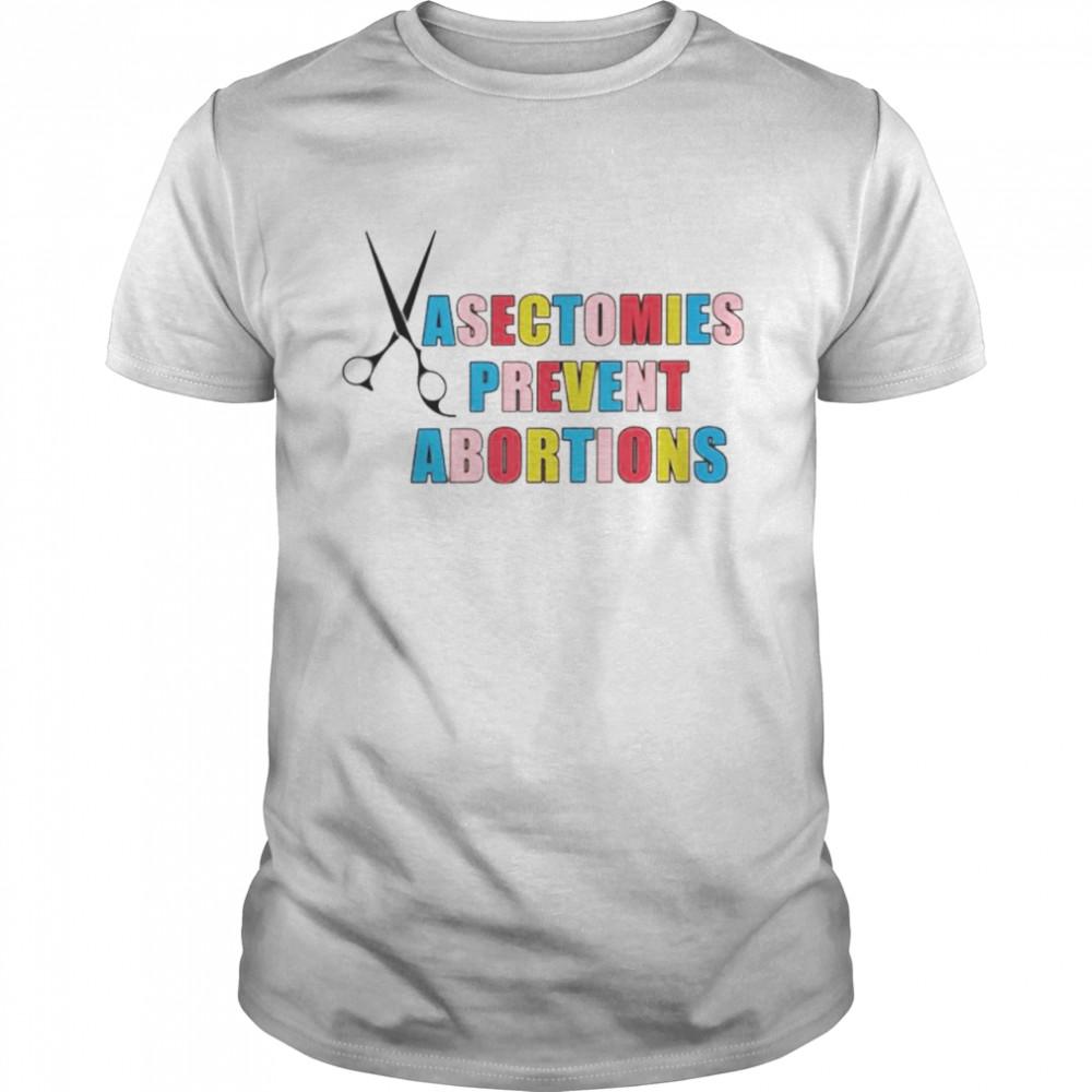 Vasectomies prevent abortions shirt Classic Men's T-shirt