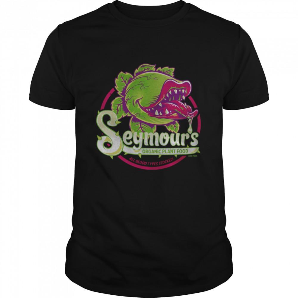 Seymours organic plant food all blood types stocked shirt Classic Men's T-shirt