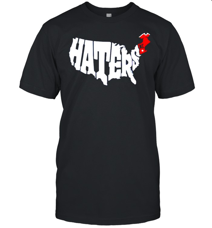 New England haters map shirt Classic Men's T-shirt