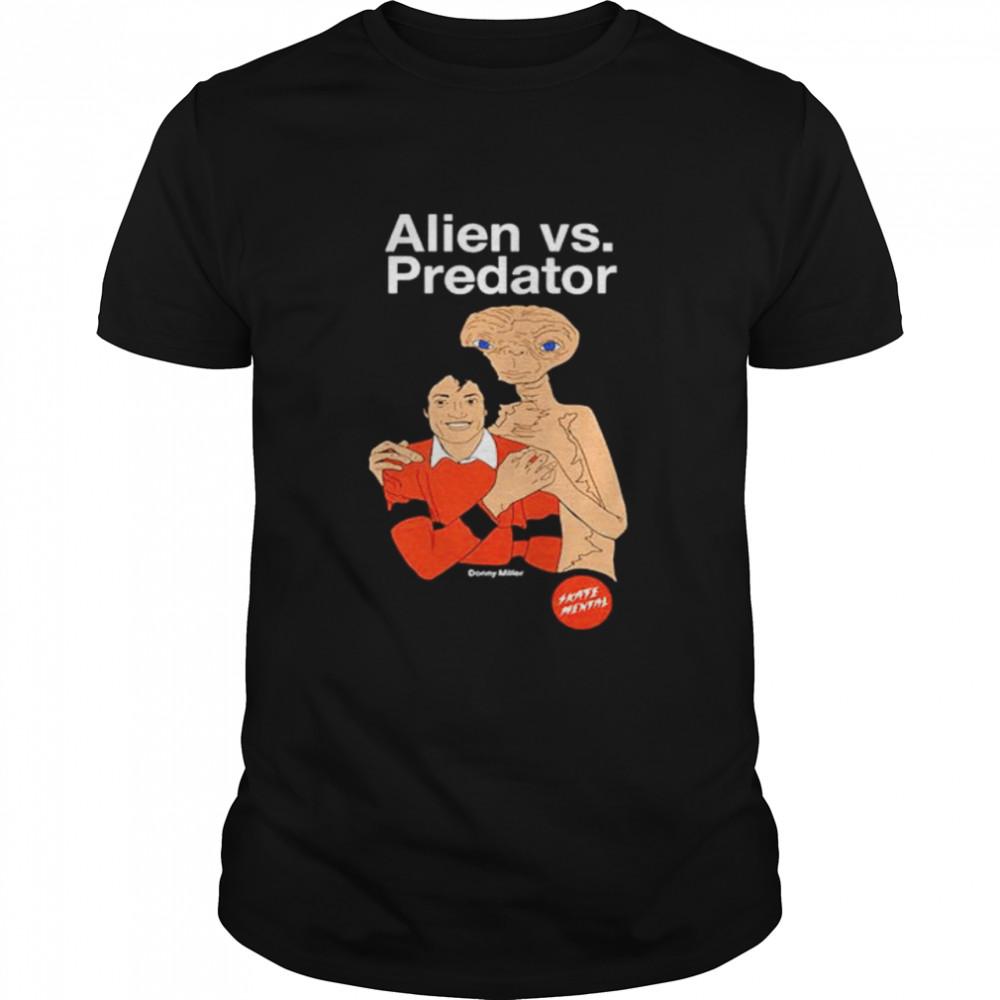 Alien vs Predator Michael Jackson shirt Classic Men's T-shirt