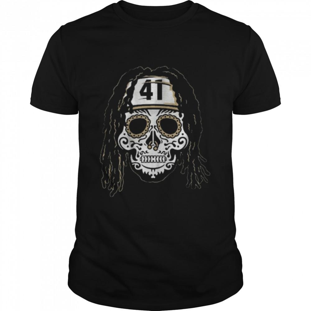 Alvin Kamara Sugar Skull  Classic Men's T-shirt