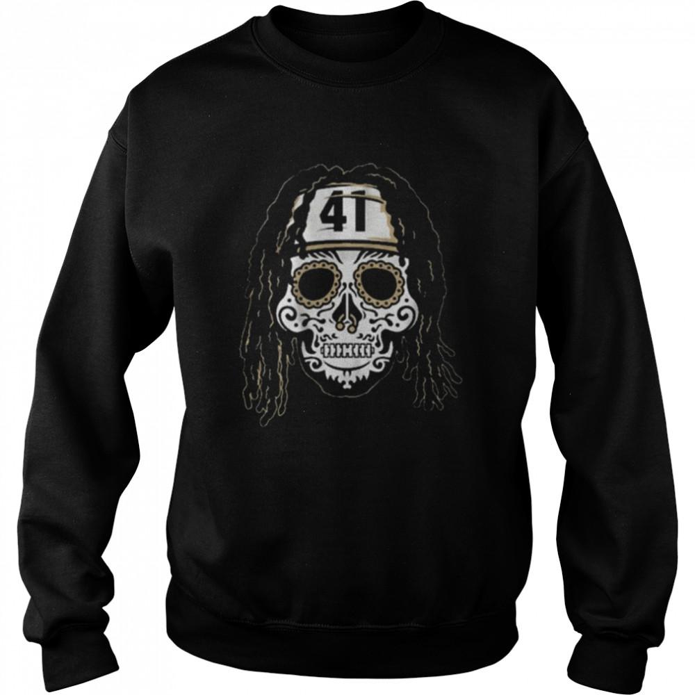 Alvin Kamara Sugar Skull  Unisex Sweatshirt