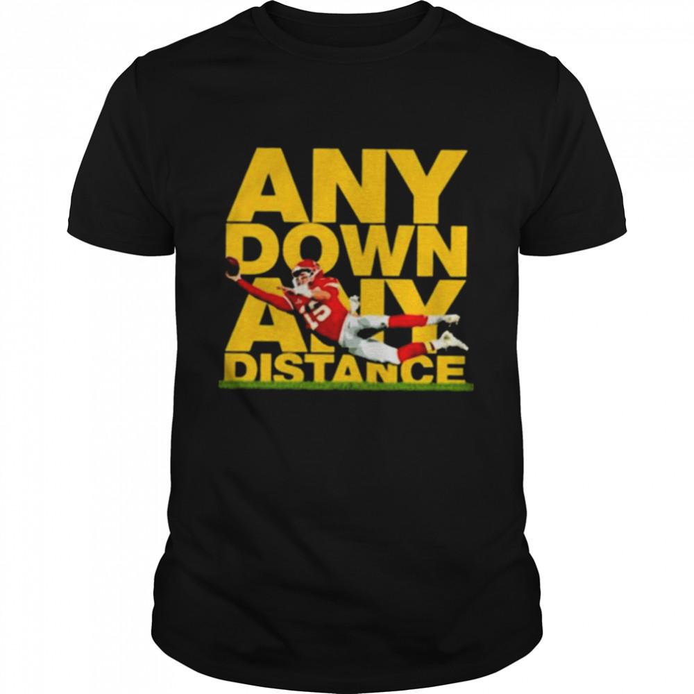 Any Down Any Distance Patrick Mahomes Kansas City Chiefs T- Classic Men's T-shirt
