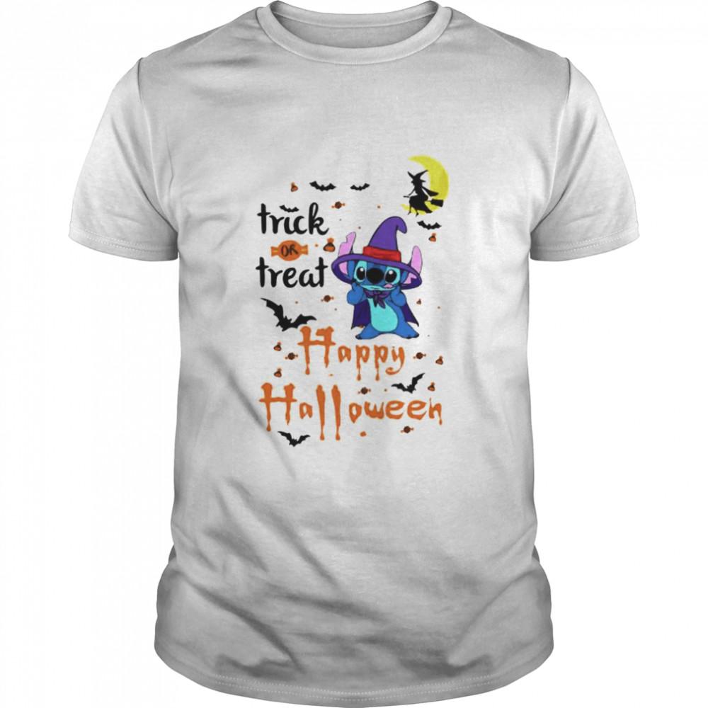 Stitch trick or treat happy Halloween shirt Classic Men's T-shirt