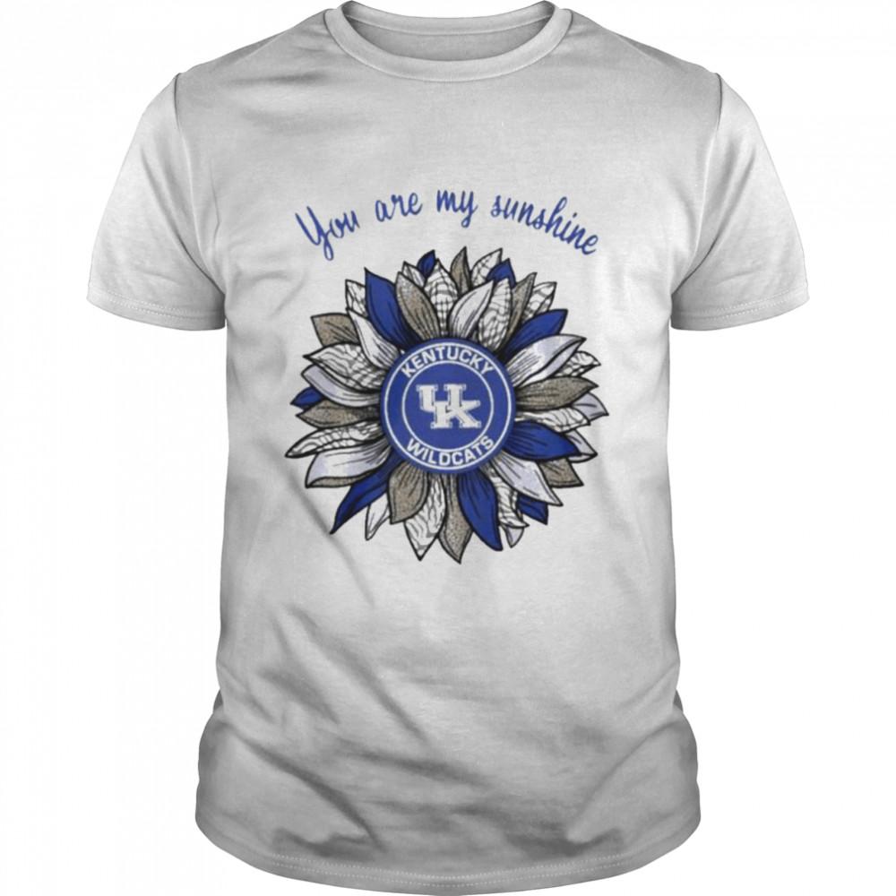 Sunflower you are my sunshine Kentucky Wildcats shirt Classic Men's T-shirt