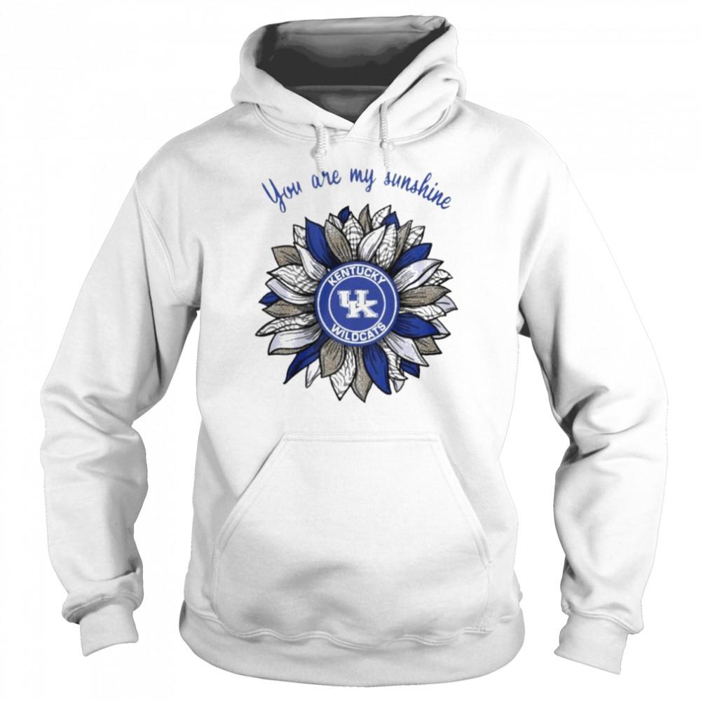 Sunflower you are my sunshine Kentucky Wildcats shirt Unisex Hoodie