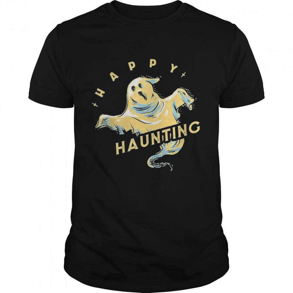 Horror Ghost Terror Skull Old Time Halloween Classic shirt Classic Men's T-shirt