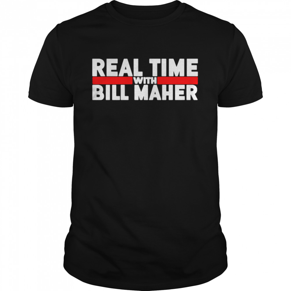 Real time with bill maher shirt Classic Men's T-shirt