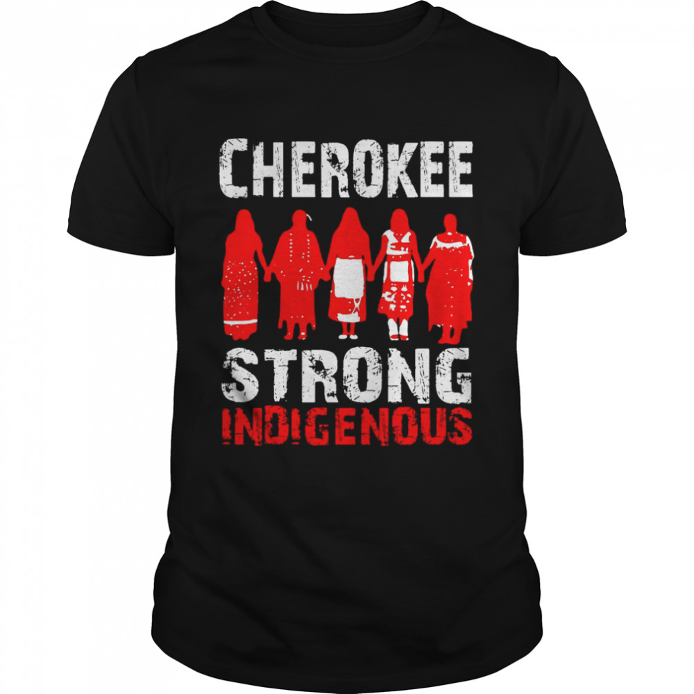 Strong Resilient Indigenous Cherokee Native American Tribe T-shirt Classic Men's T-shirt