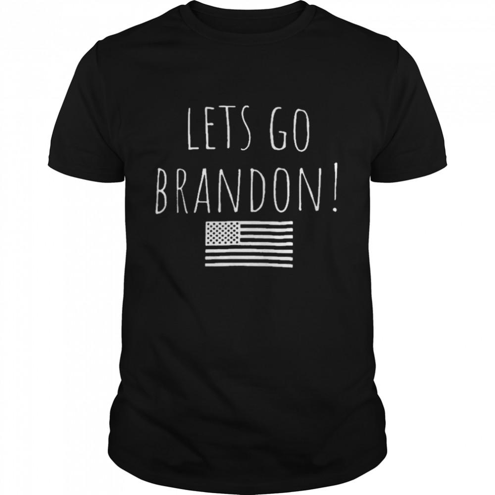 Lets go brandon fake news again shirt Classic Men's T-shirt