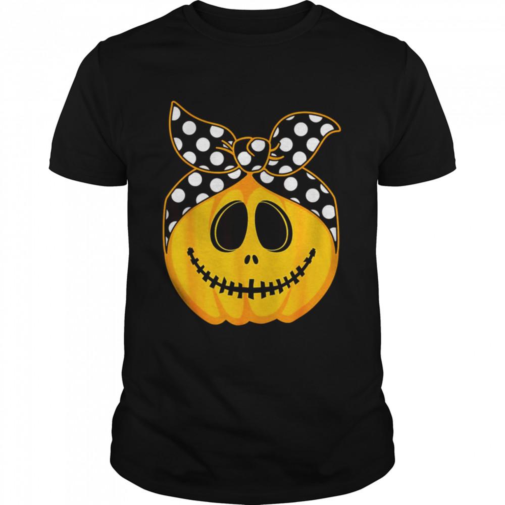 Pumpkin Top Knot Halloween Costume  Classic Men's T-shirt
