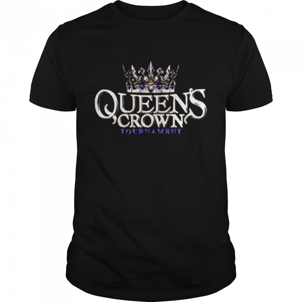Wwe Queen's Crown Tournament Logo  Classic Men's T-shirt